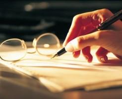 遺産分割協議書へ署名押印